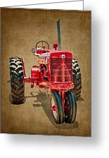 1950s Era International Harvester Tractor E108 Greeting Card by Wendell Franks