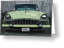 1950's Packard Greeting Card