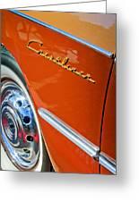 1951 Ford Crestliner Emblem - Wheel Greeting Card