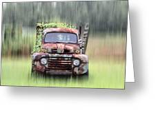 1951 Ford Truck - Found On Road Dead Greeting Card