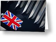 1951 Jaguar Proteus C-type British Emblem Greeting Card