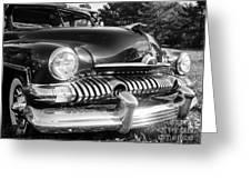 1951 Mercury Coupe - American Graffiti Greeting Card