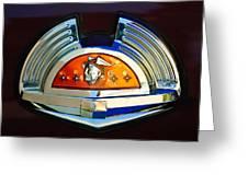 1951 Mercury Emblem Greeting Card