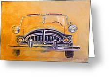1951 Packard Clipper Greeting Card
