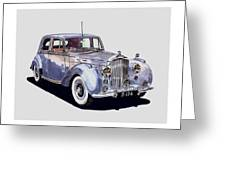 1952 Bentley M K Four Greeting Card