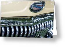 1952 Buick Eight Grill Greeting Card