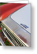 1952 Cunningham C-3 Vignale Cabriolet Grille - Hood Emblem Greeting Card