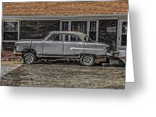 1952 Ford Greeting Card