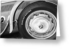 1952 Frazer-nash Le Mans Replica Mkii Competition Model Tire Emblem Greeting Card