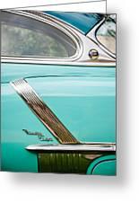 1952 Oldsmobile 98 Holiday Hardtop Side Emblem -1454c Greeting Card