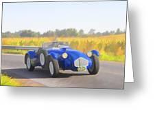 1953 Allard J2x Roadster Greeting Card