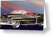 1953  Cadillac El Dorardo Convertible Greeting Card