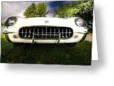 1954 Corvette Stingray Greeting Card