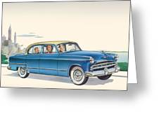 1953 Dodge Coronet - Square Format Image Greeting Card