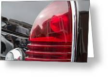 1953 Lincoln Capri Tail Light Greeting Card