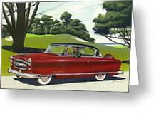 1953 Nash Rambler - Square Format Image Picture Greeting Card