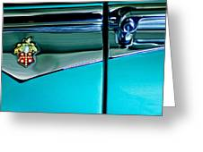 1953 Packard Caribbean Convertible Emblem 4 Greeting Card