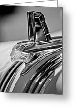 1953 Pontiac Hood Ornament 4 Greeting Card by Jill Reger