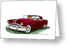 1953 Pontiac Parisienne Concept Greeting Card by Jack Pumphrey