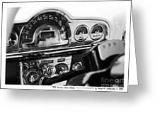 1953 Pontiac Silver Streak Greeting Card