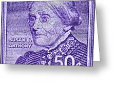 1954-1961 Susan B. Anthony Stamp Greeting Card