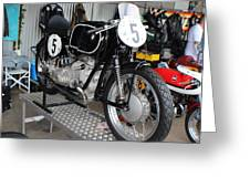 1954 Bmw Rs54 Greeting Card