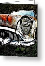 1954 Buick Art Greeting Card