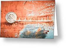 1954 Buick Special Emblem Greeting Card