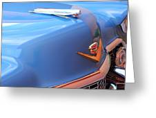 1954 Cadillac Coupe Deville Wheel Emblem - Hood Ornament Greeting Card