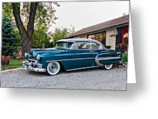 1954 Chevrolet Bel Air Greeting Card