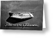 1954 Chevrolet Power Glide Emblem Greeting Card by Jill Reger