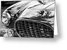 1954 Ferrari Europa 250 Gt Grille -1336bw Greeting Card