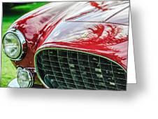 1954 Ferrari Europa 250 Gt Grille -1336c Greeting Card by Jill Reger