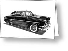 1954 Ford Skyliner Greeting Card