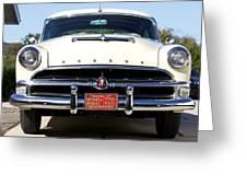 1954 Hudson Hornet Greeting Card