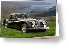 1954 Jaguar Xk140  Greeting Card