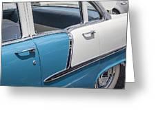 1955 Chevrolet 4 Door Greeting Card