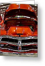 1955 Chevrolet Truck-american Classics-front View Greeting Card
