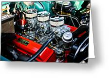 1955 Chevy 327 Greeting Card