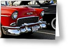 1955 Chevy Bel Air Front End Greeting Card