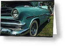 1953 Ford Crestline Greeting Card