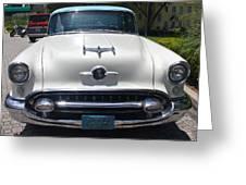 1955 Oldsmobile Ninety-eight Greeting Card