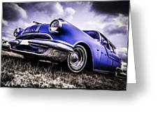 1955 Pontiac Safari Greeting Card by motography aka Phil Clark