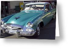 1955 Studebaker Coupe 1 Greeting Card