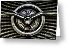 1956 Buick Special Two Greeting Card by Ken Johnson