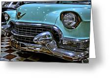 1956 Cadillac Lasalle Greeting Card