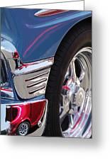1956 Chevrolet Handyman Wagon Wheel -179c Greeting Card