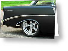 1956 Chevrolet Rear Emblem Greeting Card