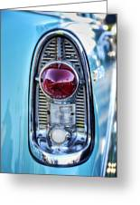 1956 Chevy Bel-air Taillight  Greeting Card