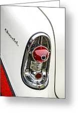 1956 Chevy Taillight Greeting Card